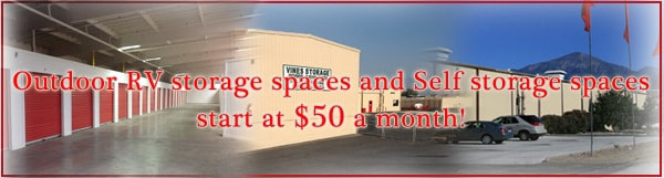 Storage Redlands CA Banner