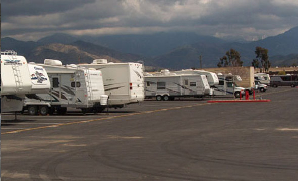 Storage Redlands CA - RV Parking - Secured Facility - RV Storage