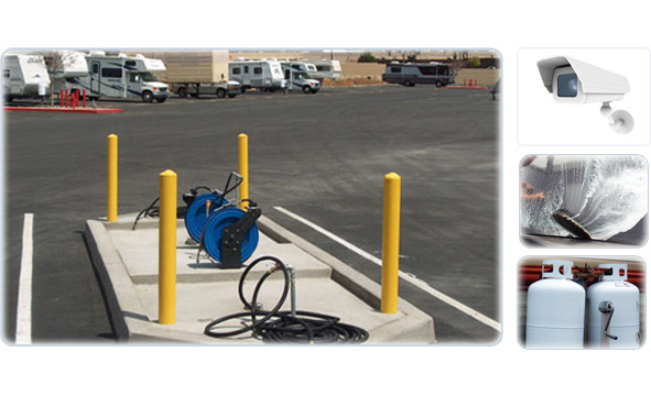 Storage Redlands CA - RV Parking - Secured Facility - Slide Services
