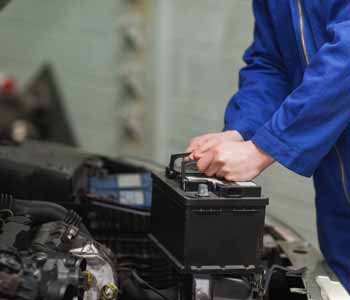 Take care of the Classic car battery and fluids
